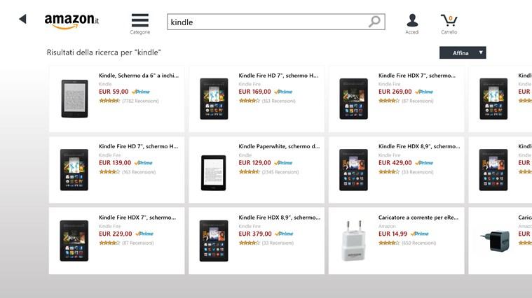 Amazon cattura di schermata 3