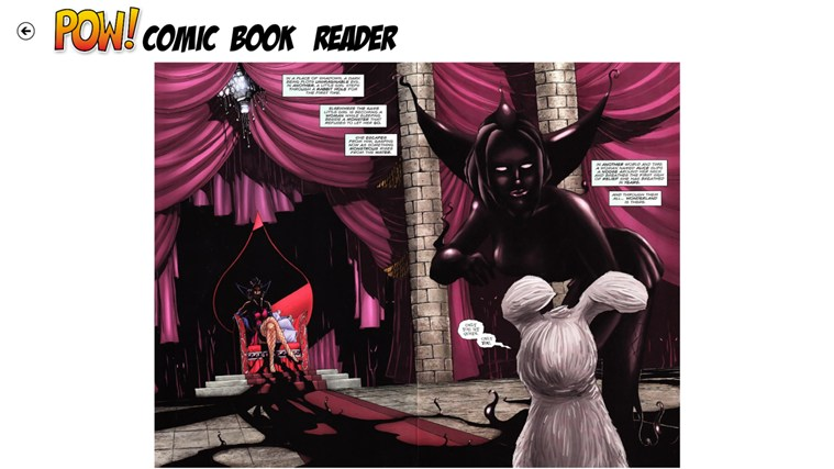 POW! Comic Book Reader screen shot 1
