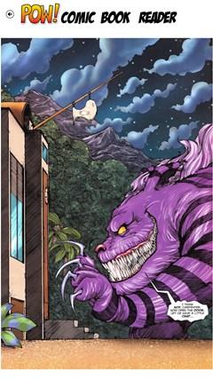 POW! Comic Book Reader screen shot 3