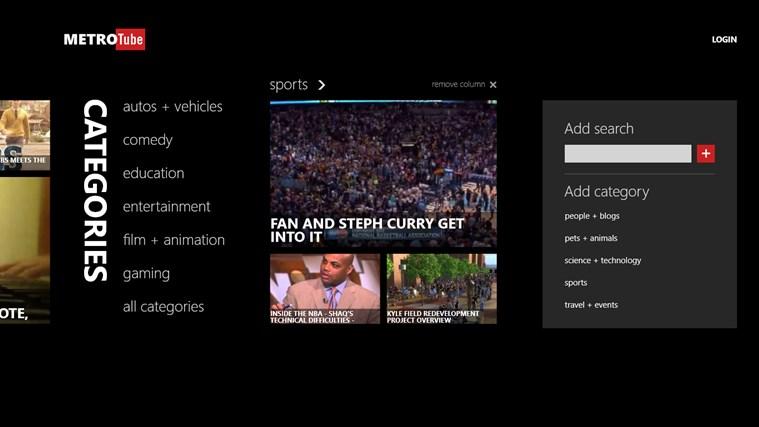 Metrotube screen shot 1