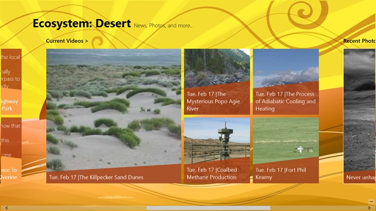 information on desert ecosystem