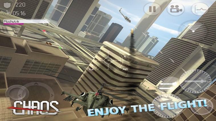 C.H.A.O.S Multiplayer Air War screen shot 3