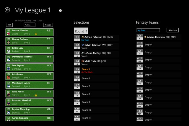 NFL Fantasy Football Cheat Sheet & Draft Kit 2014 screen shot 1