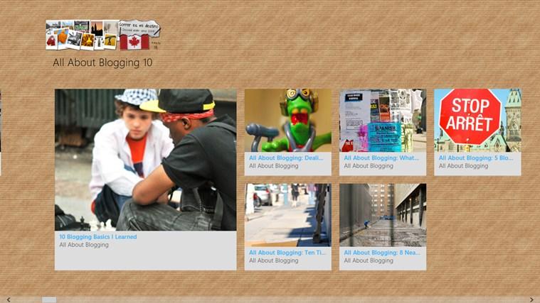 Correr Es Mi Destino - The Blog posnetek zaslona 1