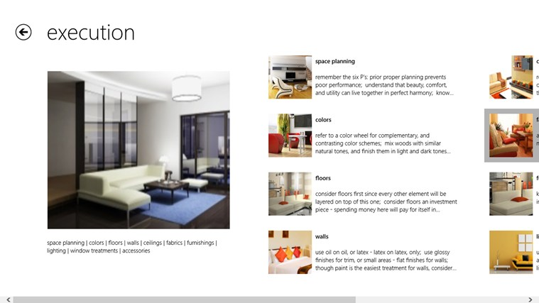 Interior Design screen shot 3