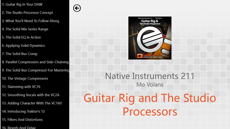 NI - Guitar Rig & Studio Processors ภาพหน้าจอ 1