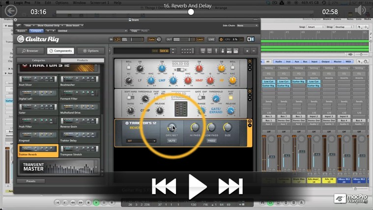 NI - Guitar Rig & Studio Processors screenshot 3