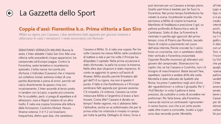 La Gazzetta dello Sport - Digital Edition cattura di schermata 3