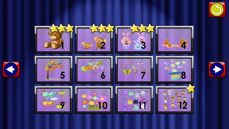 ABC Kids et comptage Jigsaw Puzzle jeu - apprendre les formes de numératie alphabet et nombres adapté aux tout-petits et enfants en âge scolaire pré capture d'écran 3