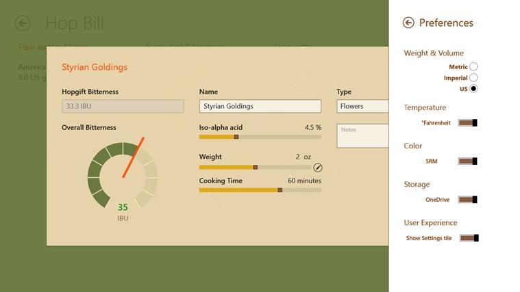 Homebrewers Toolkit schermafbeelding 3
