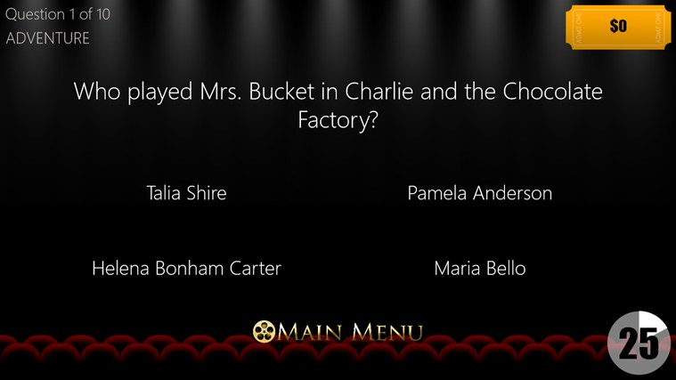 Movie Trivia screen shot 3