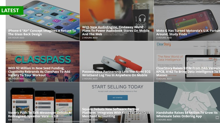 TechCrunch - The Inside Story On Innovation screen shot 1