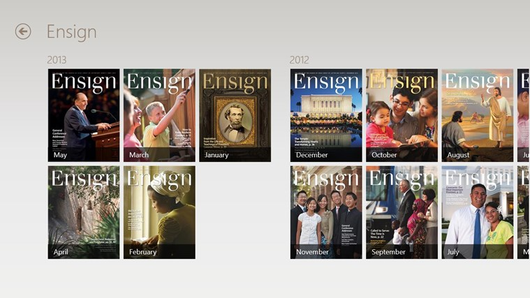 LDS Gospel Library screen shot 1