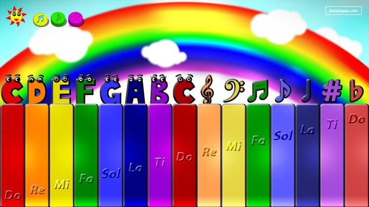 My baby Piano free screen shot 1
