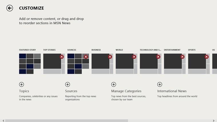 MSN News screen shot 5