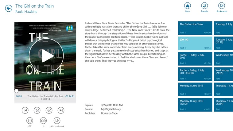 OverDrive - Library eBooks & Audiobooks screen shot 3