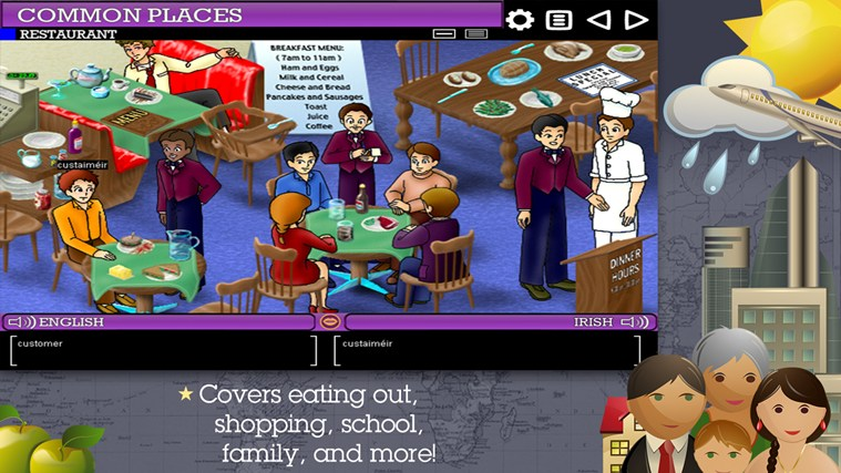 Play & Learn Irish screen shot 1