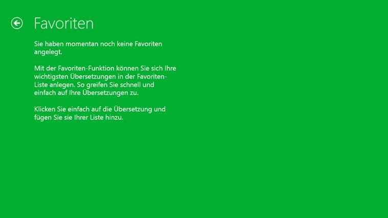 PONS Online-Wörterbuch Screenshot 3