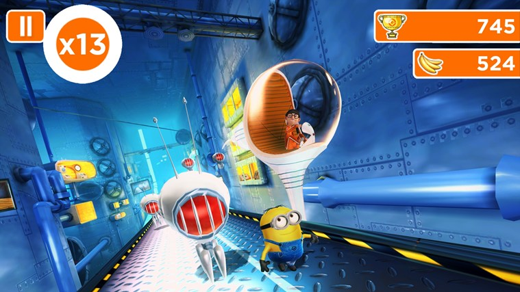 Despicable Me: Minion Rush screen shot 5