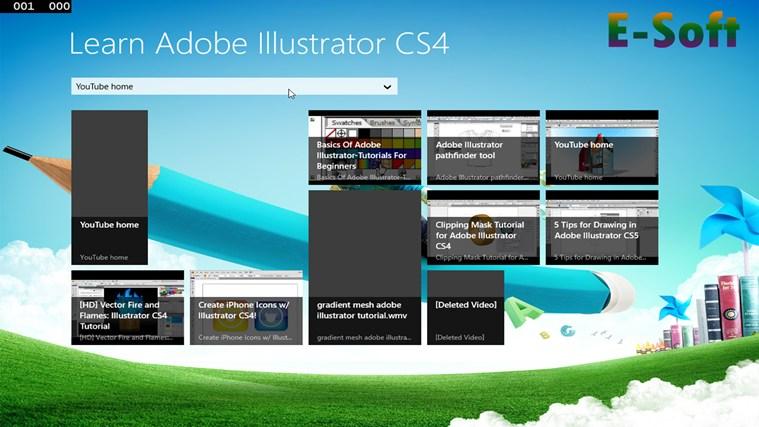 tutoriales illustrator cs4 serial code
