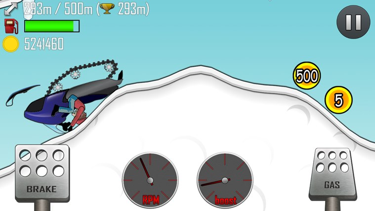 Hill Climb Racing screen shot 3