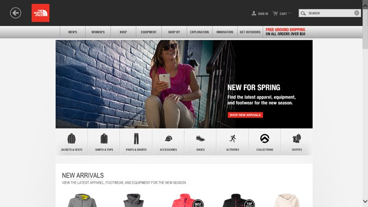 Shop The North Face screen shot 1
