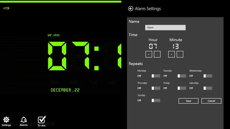 Digital Nightstand screen shot 5