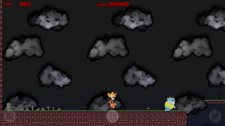 Running With Zombies screen shot 1
