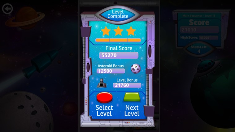 Bubble Star screen shot 3