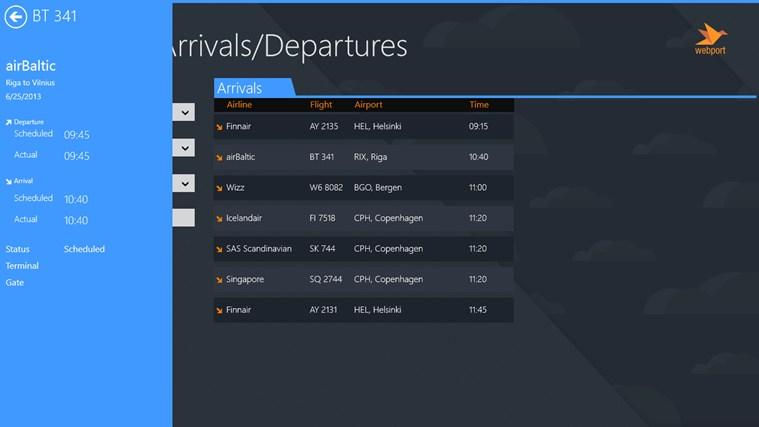 Vilnius Airport + Flight Tracker gabháil scáileáin 1