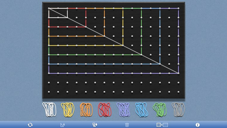 Geoboard, by the Math Learning Center screen shot 1