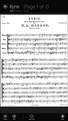 Sheet Music screen shot 5