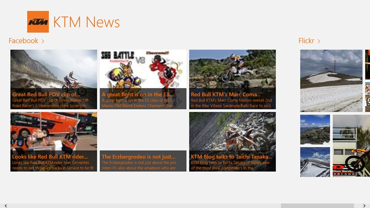 KTM News screen shot 3