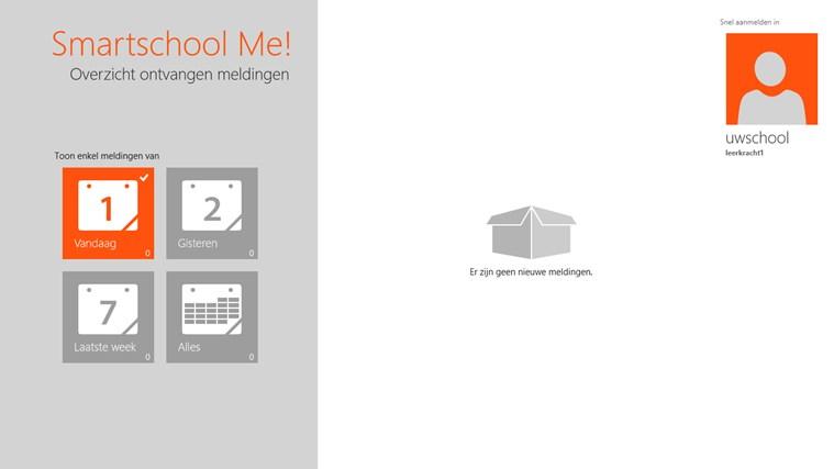 Smartschool Me! schermafbeelding 3