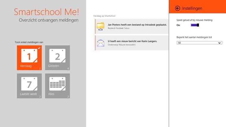 Smartschool Me! schermafbeelding 5