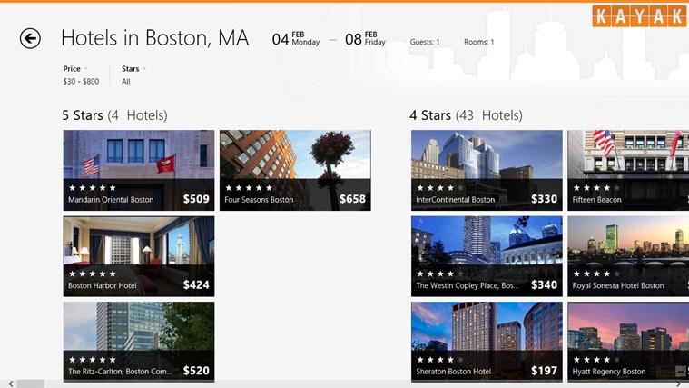 KAYAK Flights & Hotels screen shot 3