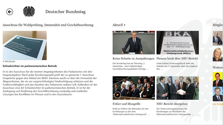 Deutscher Bundestag Screenshot 7