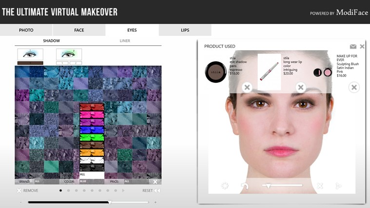 Makeover screen shot 3