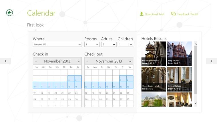 Telerik Controls Examples (HTML) screen shot 1