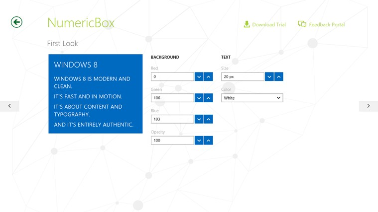 Telerik Controls Examples (HTML) screen shot 5