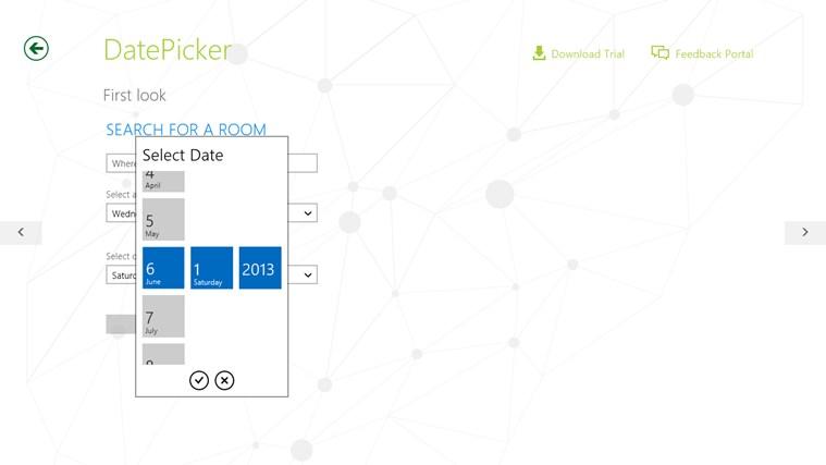 Telerik Controls Examples (HTML) screen shot 7