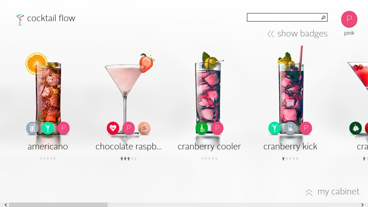 Cocktail Flow screen shot 1