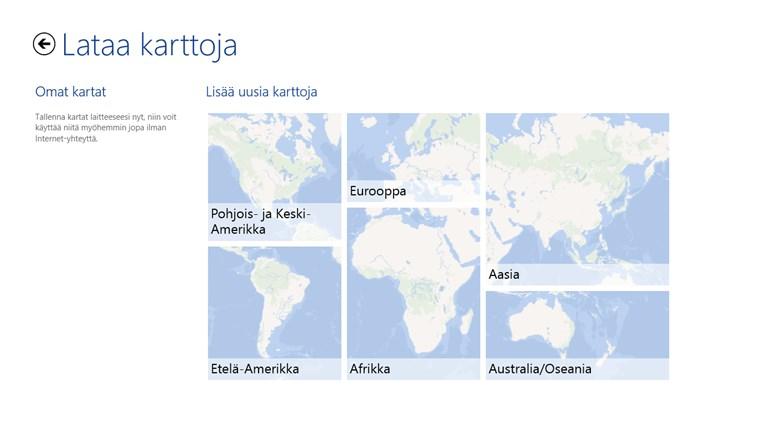 HERE Maps näyttökuva 7