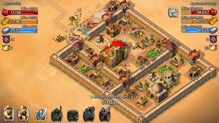 Age of empires 174 castle siege aplicativo para windows em windows