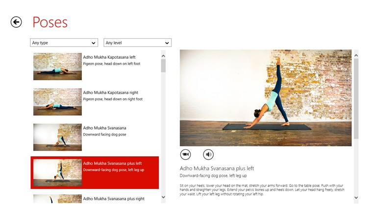 Yoga.com Studio: 300 Poses & Video Classes screen shot 3