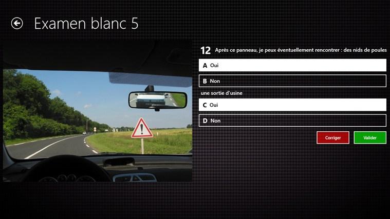 Code de la Route capture d'écran 1