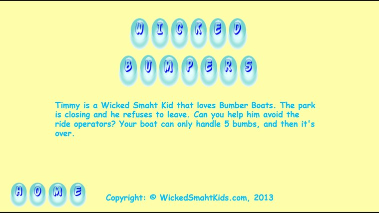 Wicked Bumpers screen shot 3
