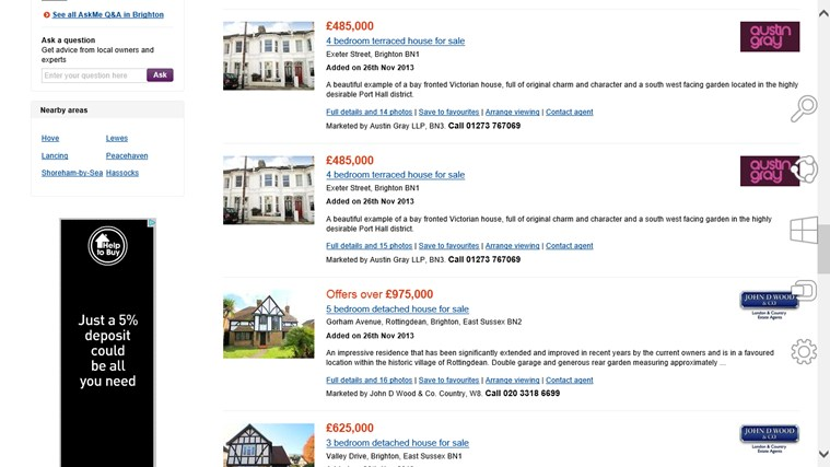 Zoopla Property Search screen shot 5