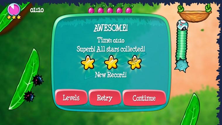 Swingworm screen shot 5