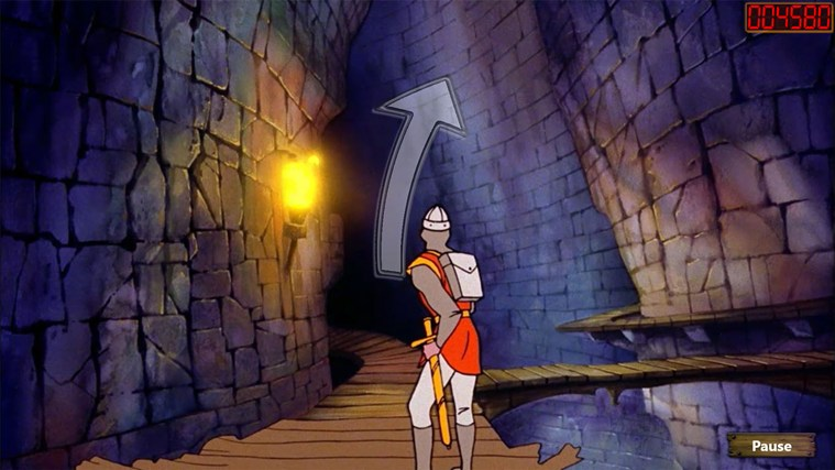 Dragon's Lair screen shot 7